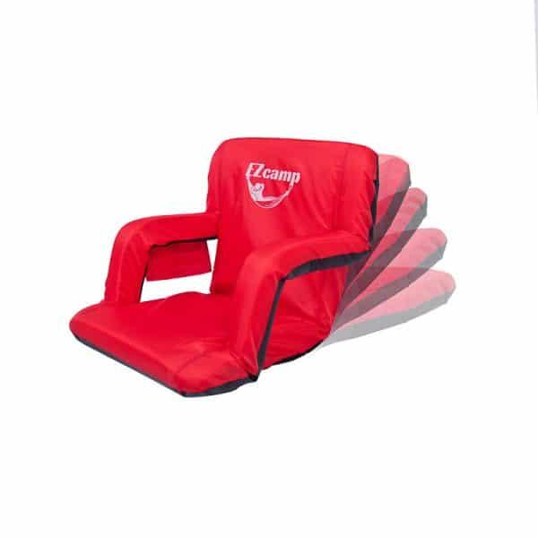 כסא מתכוונן ל-6 מצבים ומתקפל למצב שטוח