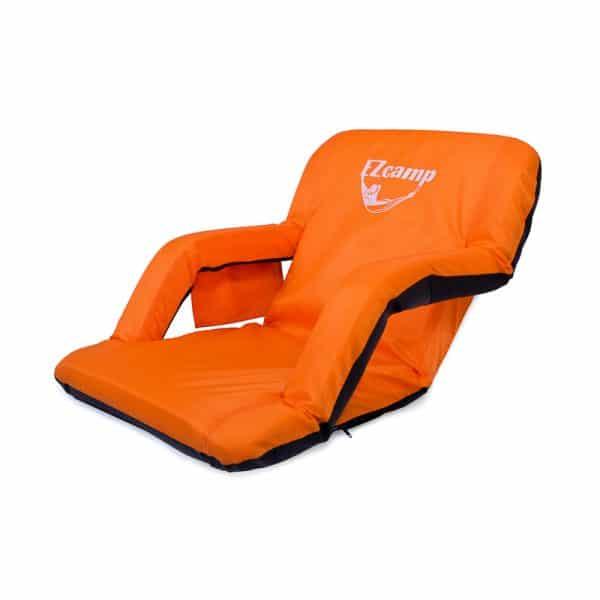כסא נוחות מתכוונן ומתקפל