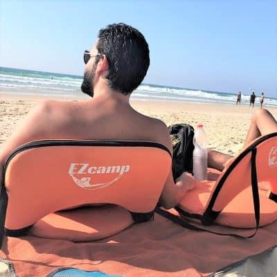 כסא ים מתקפל בחוף